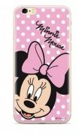 Capa Iphone XS Max Disney Minnie Rosa Licenciada Silicone em Blister