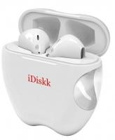Auricular Bluetooth iDiskk 5.0 com Micro i55 TWS Branco