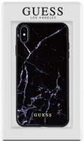 Capa Iphone XS Max GUESS Marble GUHCN61HYMABK Preto em Blister