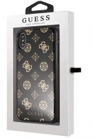 Capa Iphone X, Iphone XS GUESS Double Glitter Preto em Blister