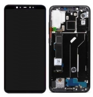 Touchscreen com Display e Aro Xiaomi Redmi 8, Redmi 8A Preto