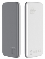 Bateria Externa  Power Bank  10000mAh Puridea S2 Cinza Blister