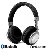 Headphones Bluetooth com Micro Fontastic Splend BaXx On-Ear Stereo Pretos