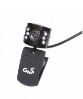 Webcam GNS VGA com Microfone Preto
