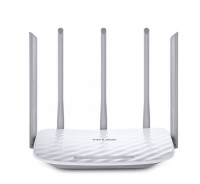 Router TP-LINK AC1350 Dual Band WI-FI, 867MBPS+450MBPS, 802.11AC/A/B/G/N - Archer C60 Branco