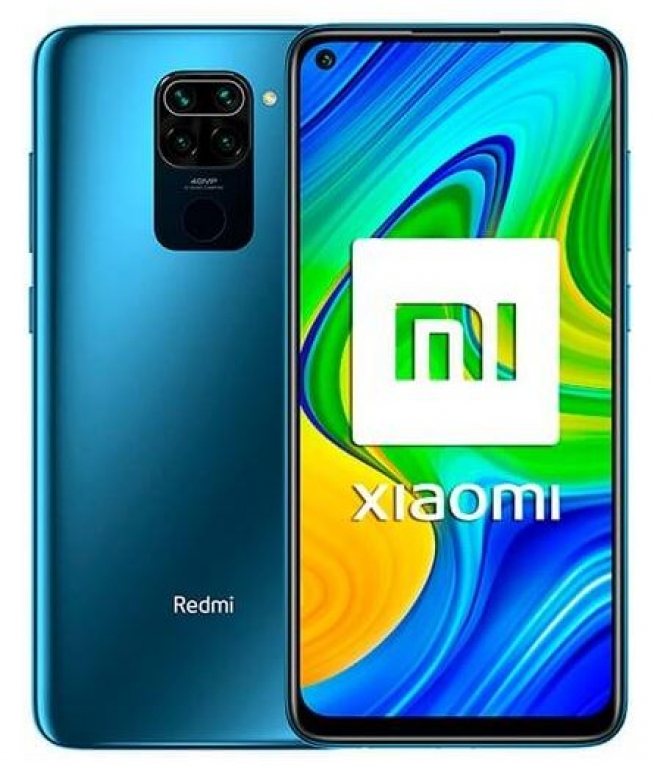 Xiaomi Redmi Note 9 4GB/128GB Dual Sim Midnight Grey