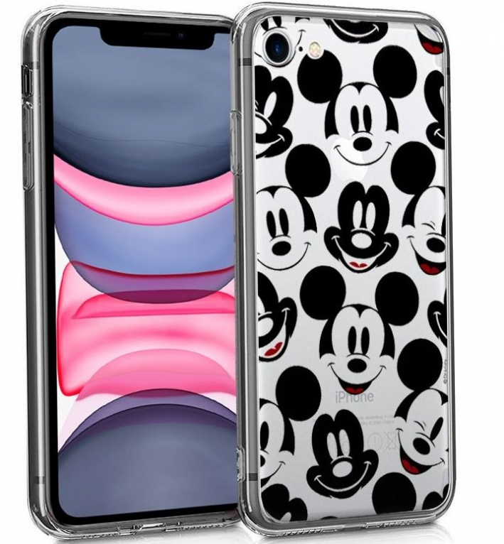 Capa Iphone 7, Iphone 8, Iphone SE 2020 Disney  Mickey 1  Licenciada Silicone em Blister