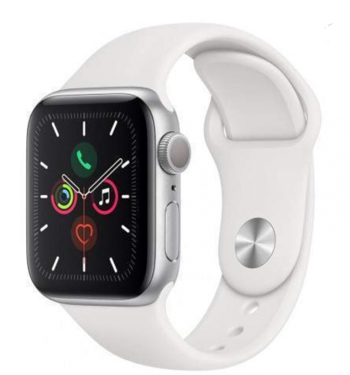 Apple Watch Series 5 44mm Branco (Grade A Usado)