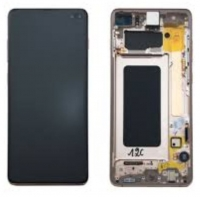 Touchscreen com Display Samsung Galaxy S10 Plus (Samsung G975) Branco Ceramica
