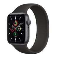 Apple Watch SE 44mm GPS Sport Band Preto