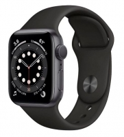 Apple Watch Series 6 44mm Sport Band Preto