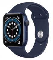 Apple Watch Series 6 44mm Sport Band Azul - M00J3PO/A