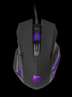 Rato WHITE SHARK GAMING Mouse GM-5006 HANNIBAL-2 3200 dpi Preto