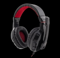 Headphones WHITE SHARK GAMING GHS-1641 PANTHER Preto/Vermelho - PC, Mac, PS4