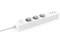 Extensão Inteligente Xiaomi Mi Power Strip 3 Tomadas + 3 USB 5V 2A