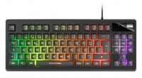 Teclado Mars Gaming MKAX, TKL, H-Mechanical, Gel Palmrest Preto