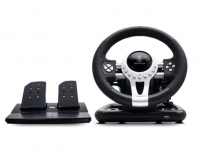 Volante + Pedais Spirit Of Gamer Race Pro Wheel 2 PC/PS3/PS4