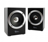 Colunas WHITE SHARK SPEAKERS 2.0 GSP-602 RHYTHMUS 6W (3W+3W) Preto